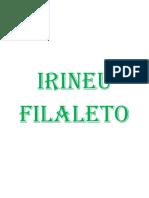 Irineu Filaleto - Livro Um