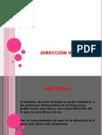 DIRRECION Ip