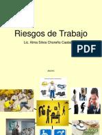 RIESGOS DE TRABAJO en el derecho del trabajo