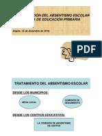 Ponencias II Jornada de Absentismo- Ayuntamiento de Algete