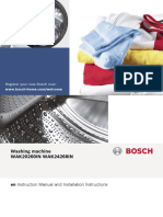 Bosch Machine Manual