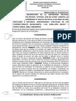 Firmada Resolucion N° 2020-E10-07 CIERRE DEL SEMESTRE 2019-II