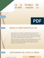 proiect strategii si tehnici de comunicare