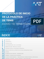 AAT Protocolo de Inicio de La Practica de Tenis