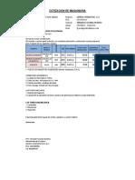 Cotizacion de Alquiler Retro y Volquete Collpa