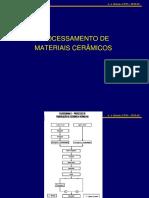 4 rotas de processamento de materiais cerâmicos