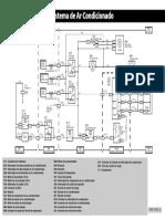 Esquema John Deere 3520 Sistema de Ar Condicionado