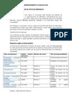 IDENTIFICACIÓN DE TIPOS DE EMPRESAS