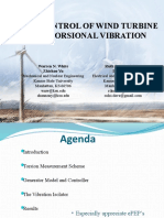 Active Control of Wind Turbine Rotor Torsional Vobration.ppt