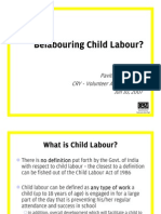 Belabouring Child Labour - Presentation