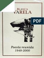 Blanca Varela - Poesía Reunida (1949-2000)
