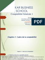 Séance 1 Comptabiité Générale 1 l1 Dakar Business School
