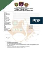 FORMULIR & PERNYATAAN PESERTA KMD-2020