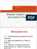 CHAPTER 1 - Shariah (Islamic Law) and Islamic Finance