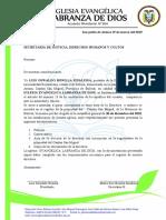 ACTA DE LA ELECCION DE LA DIRECTIVA 1