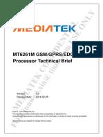 MT6261M GSM_GPRS_EDGE-RX SOC Processor Technical Brief v0.4.pdf
