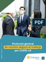 Protocolo general de retorno seguro al trabajo por COVID-19