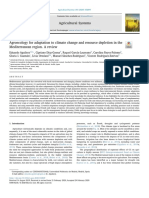Agroecology for adaptation to climate change and resource depletion in the