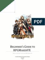 Beginner's Guide to RPG Maker VX