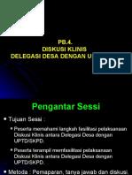 PB-4. Klinis Desa-UPTD