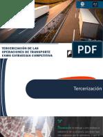Terciarizacion de las operaciones de transporte como estrategia competitiva