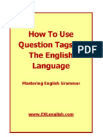 How To Use Questions Tags In The English Language