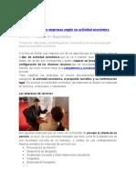 Clasificación de las empresas según su actividad económica.docx