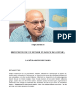 Serge Joachim II, La Nouvelle Haïti  MANIFESTE POUR UN DÉPART EN DOUCE DE JOVENEL  LA DÉCLARATION DU NORD.pdf
