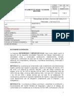 REGLAMENTO DE HIGIENE Y SEGURIDAD INDUSTRIAL SOS S.A.S