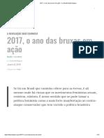 2017, o ano das bruxas em ação - Le Monde Diplomatique