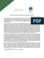 Mediavilla, Ma. Eugenia - Sindicatos y Democracia 2003-07