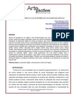LETRAMENTO DIGITAL E SUAS INTERFACES NO ENSINO DE LÍNGUAS.pdf