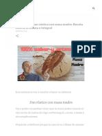 Cómo hacer pan rústico con masa madre. Receta casera, artesana e integral.pdf