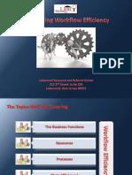 Optimizing Workflow Efficiency