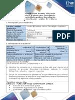 Guía de actividades y rúbrica de evaluación - Paso 2 - Identificación y análisis del problema