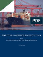 HSPD_MARITIME COMMERCE SECURITY PLAN