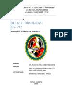 HIDROLOGIA DE LA CUENCA DE ESTUDIO
