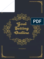 Goal Setting Outline - Anonymous