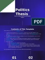 Politics Thesis by Slidesgo.pptx