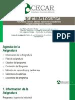 PLAN DE AULA - LOGISTICA