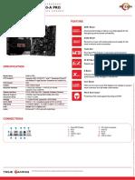 msi-b450-a-pro-datasheet