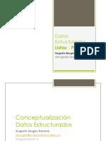 Datos Estructurados - Listas