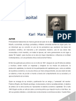 Análisis del Libro EL CAPITAL - Karl Marx