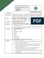 Ep 1 Sop Permintaan, Pemeriksaan, Penerimaan Spesimen, Pengambilan Dan Penyimpanan Spesimen