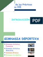GIMNASIA DEPORTIVA. INTRODUCCION
