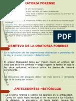 ORATORIA FORENSE INTRODUCCION