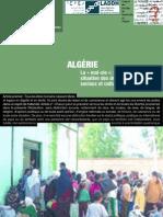 FIDH Algérie La « mal-vie » rapport sur la situation économiques et sociales