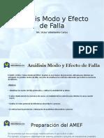 Análisis Modo y Efecto de Falla
