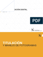 03 - TITULACIÓN, KEYFRAMES Y AUDIOS