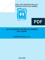 Reseau National Des Centres d'Ecoute Sur Lesviolencescontrelesfemmeslesviolencescontrelesfemmesen Algerie